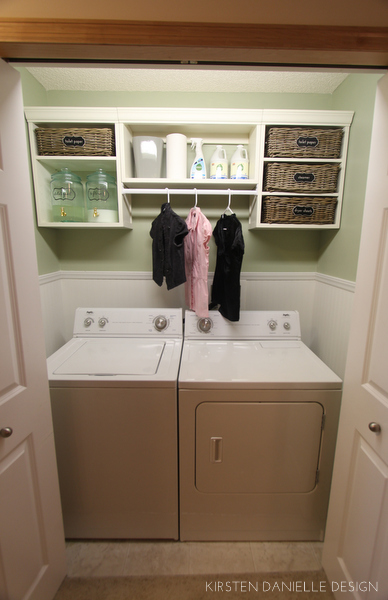 15 diy projects to increase your home value sycamore for How to add a laundry room to your house